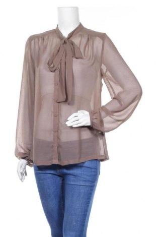 Дамска риза Minimum, Размер M, Цвят Кафяв, Полиестер, Цена 28,08лв.
