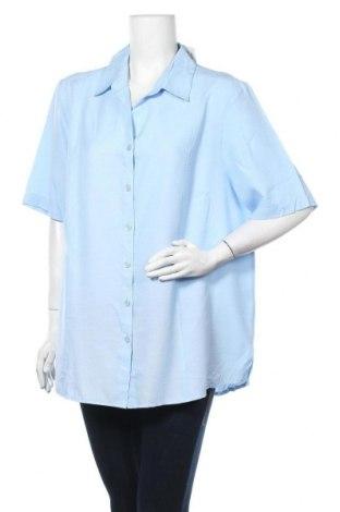 Γυναικείο πουκάμισο Solutions, Μέγεθος XL, Χρώμα Μπλέ, Βισκόζη, πολυεστέρας, Τιμή 6,23€