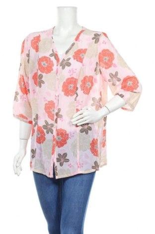 Γυναικείο πουκάμισο Solutions, Μέγεθος XL, Χρώμα Πολύχρωμο, Πολυεστέρας, Τιμή 3,86€