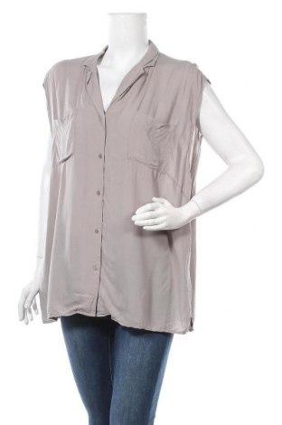 Γυναικείο πουκάμισο Soya Concept, Μέγεθος XXL, Χρώμα Γκρί, Τιμή 4,87€