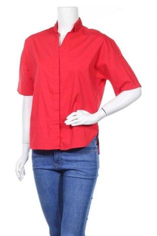Γυναικείο πουκάμισο Steffen Schraut, Μέγεθος XS, Χρώμα Κόκκινο, 60% βαμβάκι, 35% πολυεστέρας, 5% ελαστάνη, Τιμή 9,32€