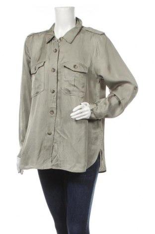Дамска риза Sussan, Размер XL, Цвят Зелен, 85% вискоза, 15% лен, Цена 9,82лв.