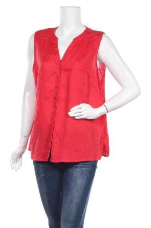 Γυναικείο πουκάμισο Suzanne Grae, Μέγεθος XL, Χρώμα Κόκκινο, Λινό, Τιμή 8,83€