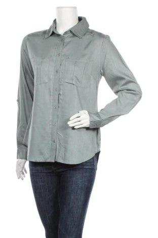 Дамска риза Zero, Размер M, Цвят Зелен, Лиосел, Цена 36,75лв.