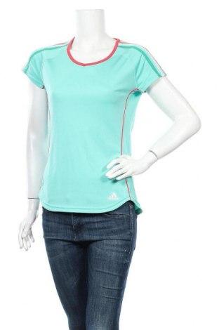 Γυναικεία αθλητική μπλούζα Adidas, Μέγεθος M, Χρώμα Πράσινο, Πολυεστέρας, Τιμή 14,29€