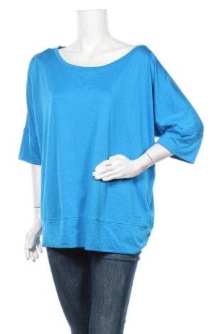 Γυναικεία αθλητική μπλούζα Champion, Μέγεθος XXL, Χρώμα Μπλέ, 100% πολυεστέρας, Τιμή 12,34€