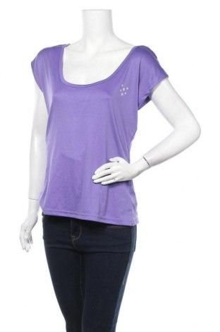 Дамска спортна блуза Crivit, Размер M, Цвят Лилав, Полиестер, Цена 16,96лв.