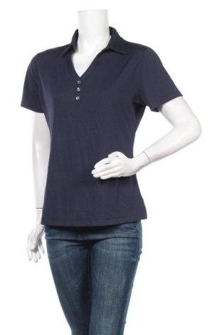 Дамска спортна блуза Cutter & Buck, Размер L, Цвят Син, Полиестер, Цена 14,28лв.