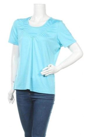 Γυναικεία αθλητική μπλούζα Joy, Μέγεθος L, Χρώμα Μπλέ, 90% πολυεστέρας, 10% ελαστάνη, Τιμή 5,85€