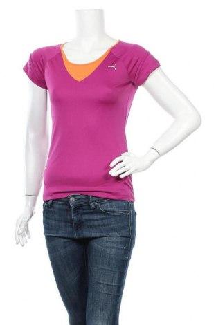 Дамска спортна блуза PUMA, Размер S, Цвят Розов, Полиестер, Цена 15,02лв.