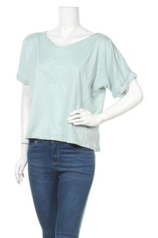 Дамска спортна блуза Uniqlo, Размер XL, Цвят Зелен, 71% полиестер, 24% купро, 5% еластан, Цена 5,36лв.