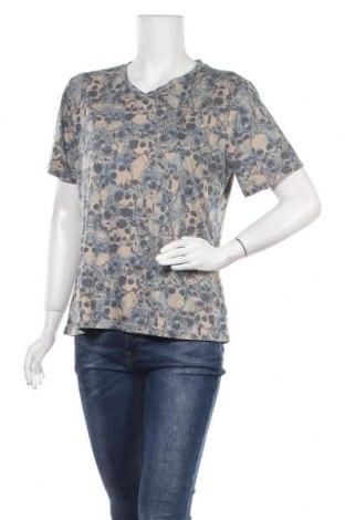 Дамска тениска, Размер L, Цвят Бежов, 65% памук, 35% полиестер, Цена 11,97лв.
