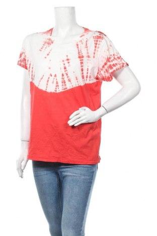 Дамска тениска, Размер L, Цвят Червен, Памук, Цена 7,09лв.
