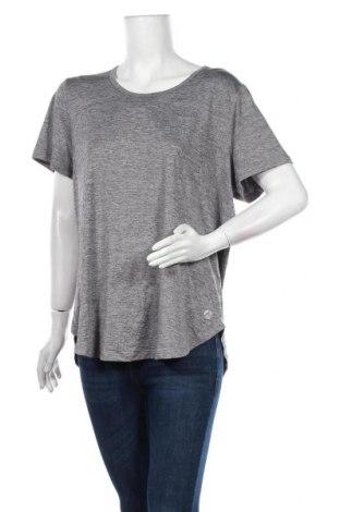 Дамска тениска, Размер XXL, Цвят Сив, Полиестер, еластан, Цена 9,24лв.