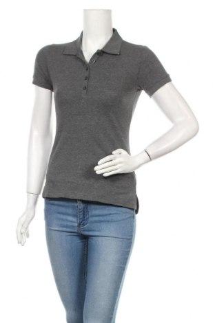 Дамска тениска, Размер S, Цвят Сив, 95% памук, 5% еластан, Цена 18,00лв.