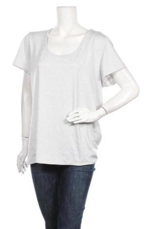 Дамска тениска, Размер XXL, Цвят Сив, 88% полиестер, 12% еластан, Цена 19,85лв.