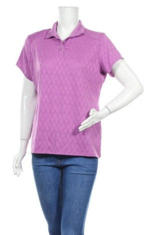 Дамска тениска, Размер XL, Цвят Лилав, Цена 9,82лв.