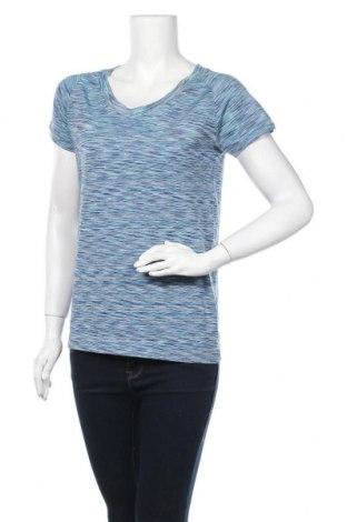 Дамска тениска, Размер L, Цвят Многоцветен, 55% полиестер, 37% полиамид, 8% еластан, Цена 12,29лв.