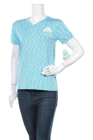 Дамска тениска, Размер L, Цвят Син, 90% полиестер, 10% еластан, Цена 20,48лв.