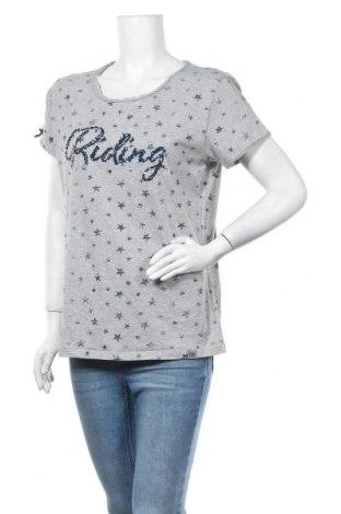 Дамска тениска, Размер XL, Цвят Сив, 90% памук, 10% еластан, Цена 17,85лв.