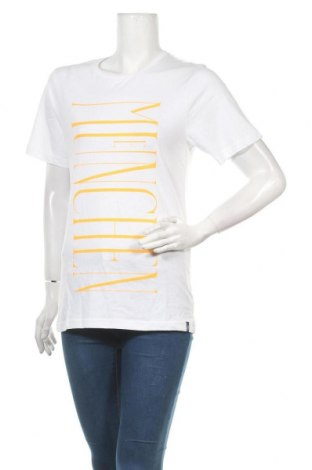 Дамска тениска, Размер S, Цвят Бял, Памук, Цена 13,39лв.