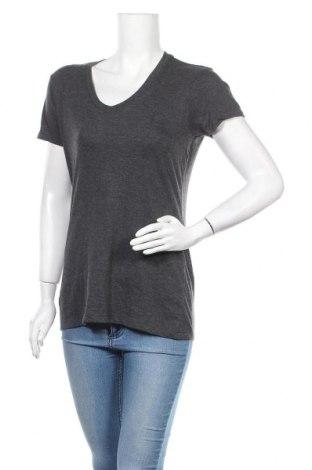 Дамска тениска, Размер M, Цвят Сив, 60% памук, 40% полиестер, Цена 11,81лв.