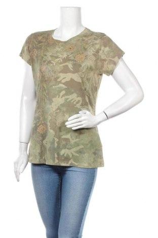 Дамска тениска, Размер L, Цвят Многоцветен, 65% полиестер, 35% памук, Цена 17,01лв.