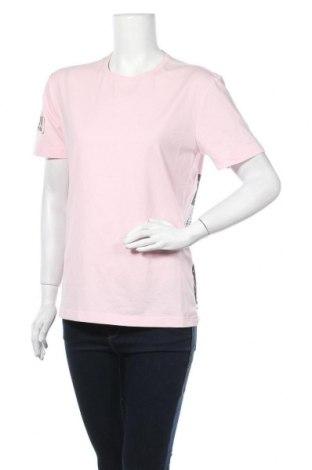 Дамска тениска, Размер L, Цвят Розов, 92% памук, 8% еластан, Цена 7,51лв.