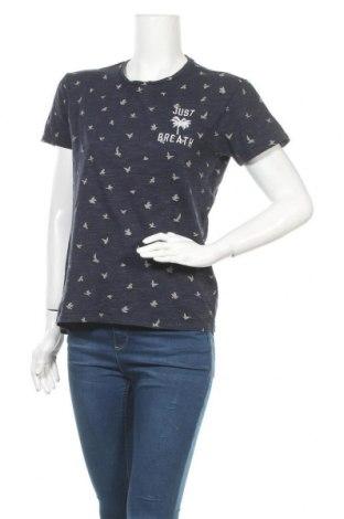 Дамска тениска 17 & Co., Размер M, Цвят Син, 81% памук, 19% полиестер, Цена 13,23лв.