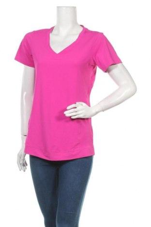 Дамска тениска Active By Tchibo, Размер M, Цвят Розов, 86% полиестер, 14% еластан, Цена 10,71лв.