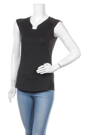 Дамска тениска Active By Tchibo, Размер S, Цвят Черен, 90% полиестер, 10% еластан, Цена 14,28лв.