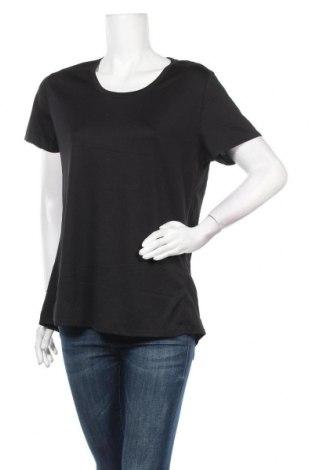 Дамска тениска Active&Co, Размер XL, Цвят Черен, Полиестер, Цена 10,92лв.