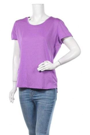 Дамска тениска Active&Co, Размер XL, Цвят Лилав, Полиестер, еластан, Цена 4,73лв.