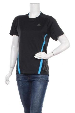Дамска тениска Adidas, Размер S, Цвят Черен, Полиестер, Цена 12,71лв.