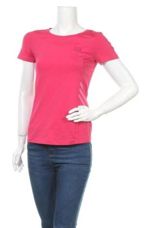 Дамска тениска Adidas, Размер S, Цвят Розов, 82% полиестер, 18% еластан, Цена 17,33лв.