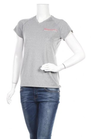 Дамска тениска Adidas, Размер S, Цвят Сив, Цена 11,81лв.