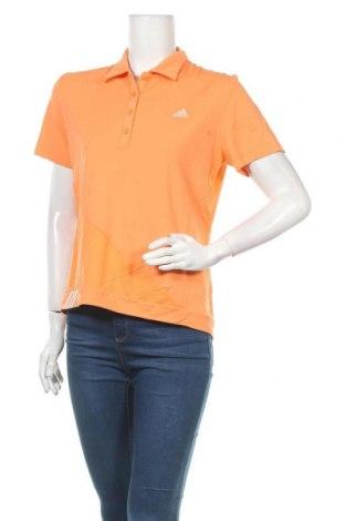 Γυναικείο t-shirt Adidas, Μέγεθος XL, Χρώμα Πορτοκαλί, Πολυαμίδη, Τιμή 13,64€