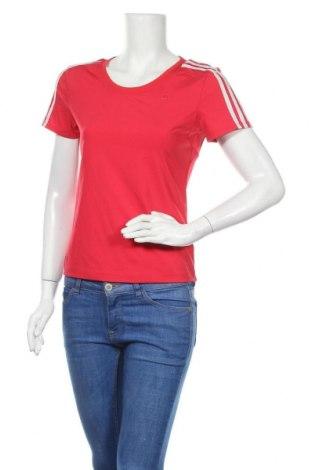 Γυναικείο t-shirt Adidas, Μέγεθος M, Χρώμα Κόκκινο, Τιμή 11,21€