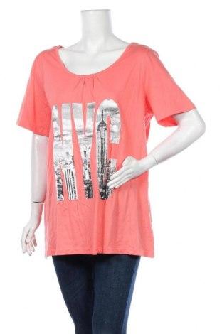 Дамска тениска Alexia, Размер XL, Цвят Розов, Памук, Цена 17,64лв.