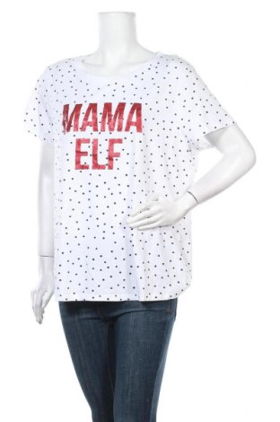 Дамска тениска Anko, Размер XXL, Цвят Бял, 60% памук, 40% полиестер, Цена 14,28лв.