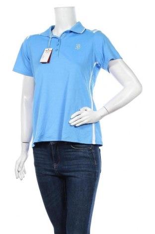 Дамска тениска Antigua, Размер M, Цвят Син, Полиестер, Цена 14,18лв.