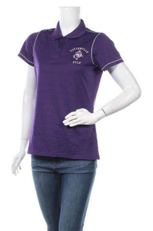 Дамска тениска Antigua, Размер M, Цвят Лилав, Полиестер, Цена 6,83лв.