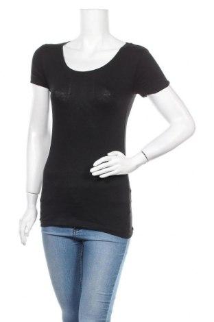 Γυναικείο t-shirt Ardene, Μέγεθος S, Χρώμα Μαύρο, 95% βαμβάκι, 5% ελαστάνη, Τιμή 6,23€