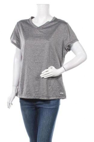 Γυναικείο t-shirt Athletic Works, Μέγεθος XL, Χρώμα Γκρί, Τιμή 7,18€