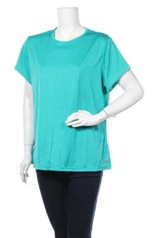 Γυναικείο t-shirt Athletic Works, Μέγεθος XXL, Χρώμα Πράσινο, Πολυεστέρας, Τιμή 11,40€