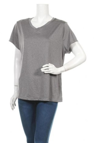 Γυναικείο t-shirt Athletic Works, Μέγεθος XXL, Χρώμα Γκρί, Πολυεστέρας, Τιμή 9,38€