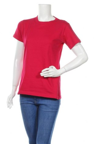 Дамска тениска B&C Collection, Размер L, Цвят Розов, Памук, Цена 4,41лв.