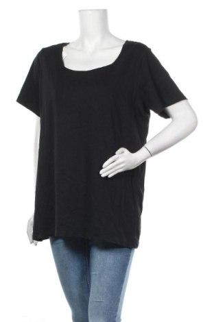 Дамска тениска Best&Less, Размер XXL, Цвят Черен, Памук, Цена 22,68лв.