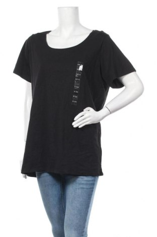 Дамска тениска Best and less, Размер XXL, Цвят Черен, Памук, Цена 20,48лв.