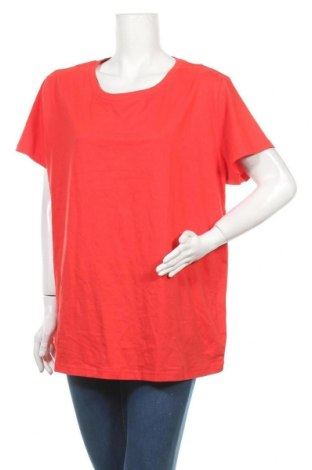 Дамска тениска Bpc Bonprix Collection, Размер XXL, Цвят Червен, Памук, Цена 7,56лв.
